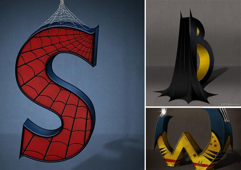 Alfabeto de SuperHéroes Letra por Letra