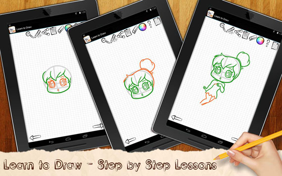 Aplicaciones móviles para aprender a dibujar