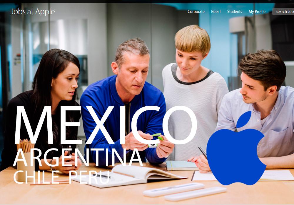 Apple desembarca con tiendas oficiales en México, Chile, Perú y Argentina