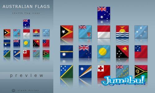 Banderas Australianas en PNG