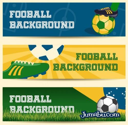 Encabezados o Banners del Mundial de Fútbol Brasil 2014