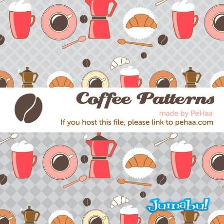 Recursos de Cafetería Dibujados a Mano y Vectorizados