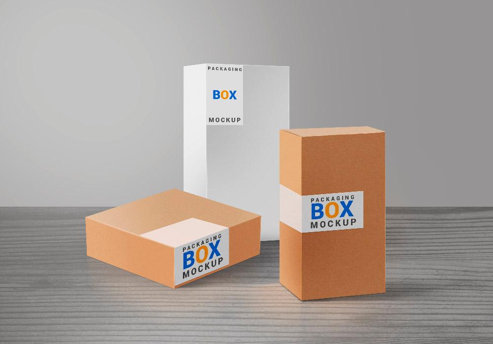 Modelos de caja de cartón para descargar