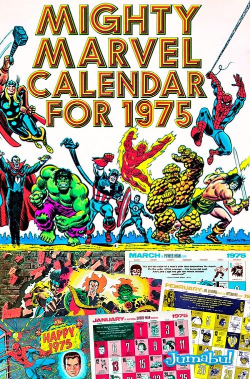 Calendario 2014 para los Amantes de los Super Héroes