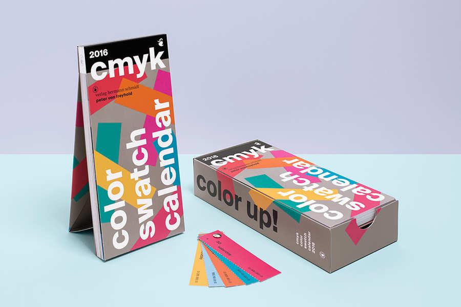 Calendario 2016 para Estudios de Diseño Gráfico o Imprentas