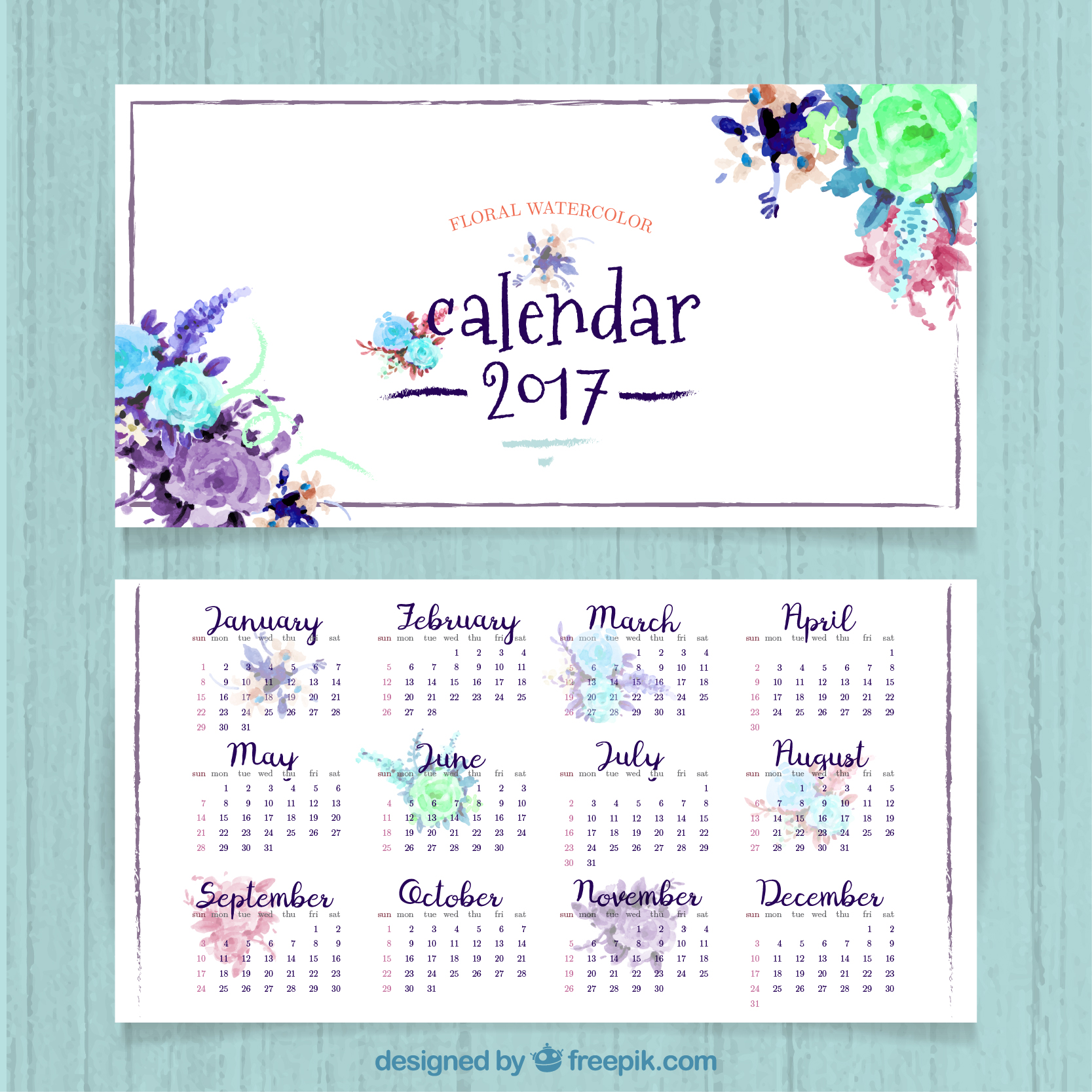 2017 en español con mandalas para imprimir gratis calendario 2017 ...