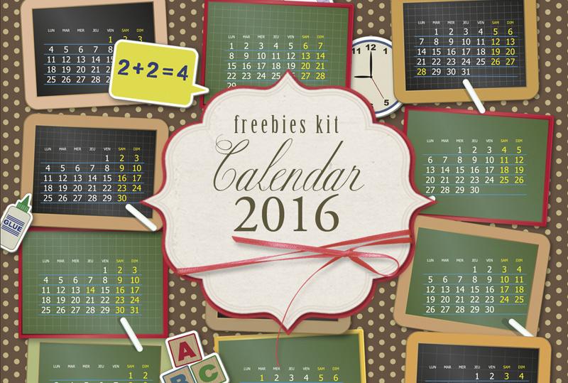 Descarga un Calendario 2016 para Imprimir