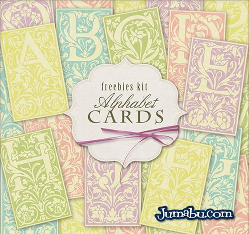Cartas Ornamentales con Alfabeto en Imágenes HD