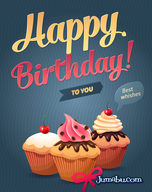 Cartel de Feliz Cumpleaños en Vectores