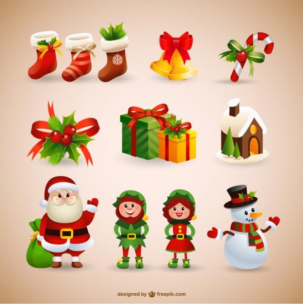 Vectores de Navidad Gratuitos
