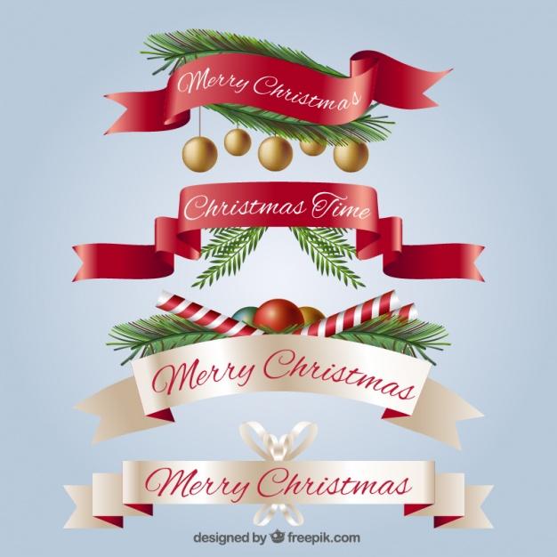 Cintas navideñas para descargar gratis
