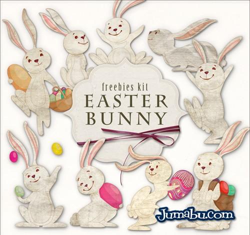 Imágenes Recortadas de Conejos para Pascuas en HD