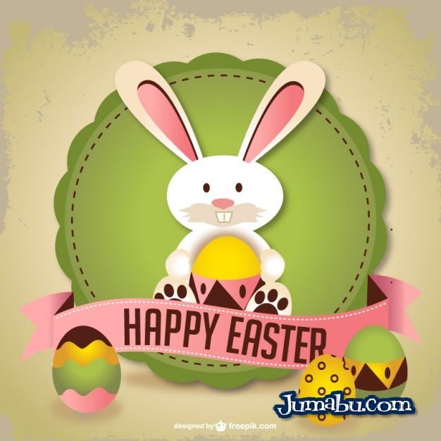 Tarjeta Felices Pascuas Vectorizada