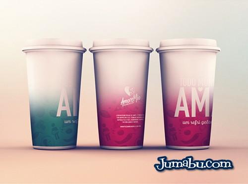 Mock Ups de Vasos Térmicos tipo Starbucks