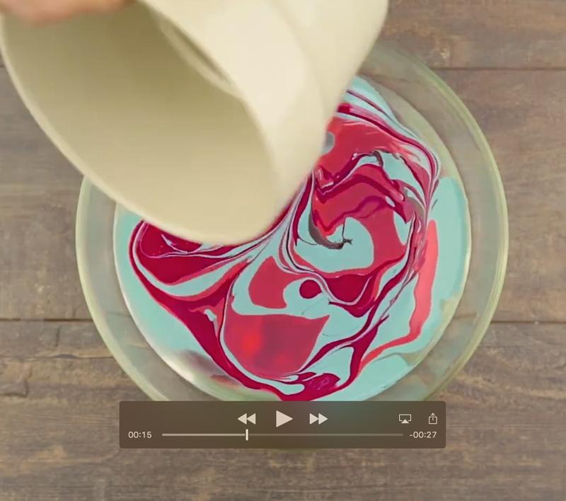 Decorar un macetero con pintura para uñas