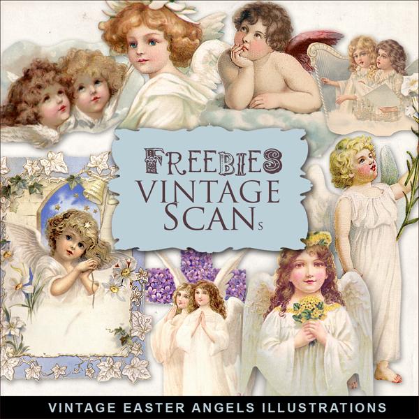 Ilustraciones de ángeles antiguos para descargar