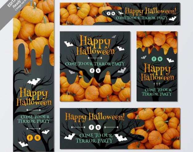 Banners para Halloween que puedes Descargar Gratis