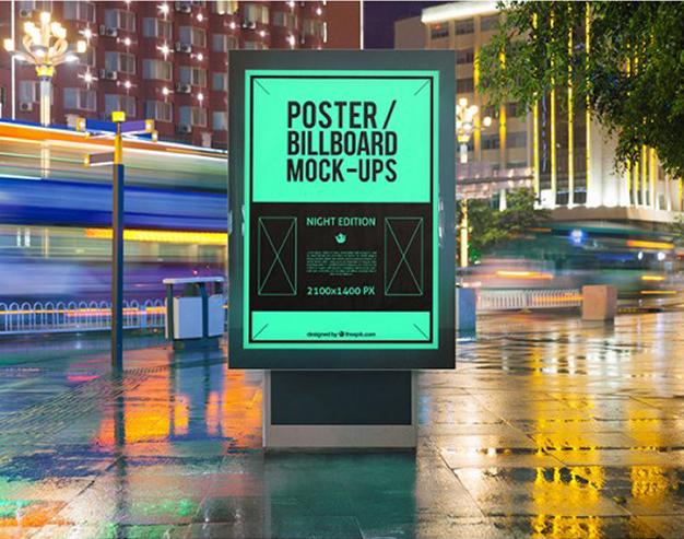 Coloca tu Diseño de Carteles en paradas de Bus
