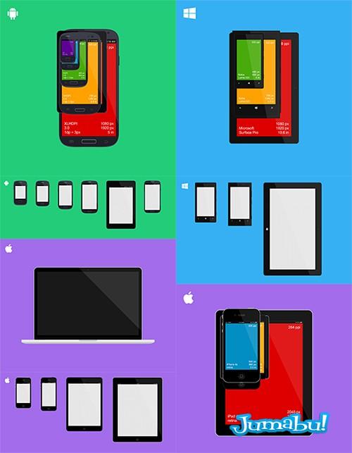 Dispositivos Móviles en Photoshop
