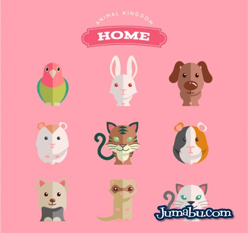 Animales Domésticos en Vectores