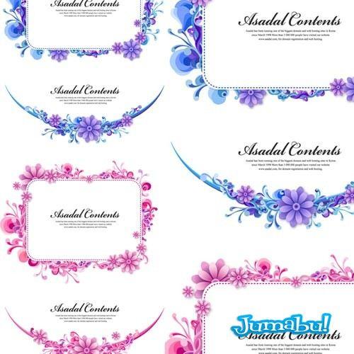 vectores-flores-rosas-margaritas-tocados