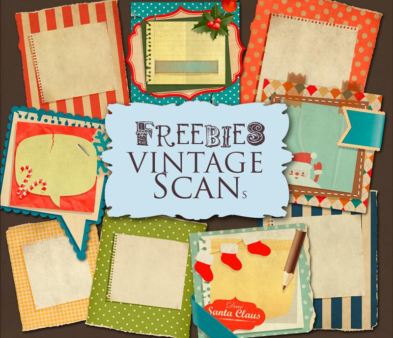 Invitaciones Vintage de papel recortado para Descargar