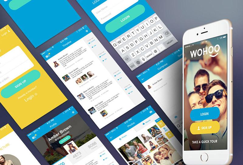 Interfaz de Usuario para iPhone 6