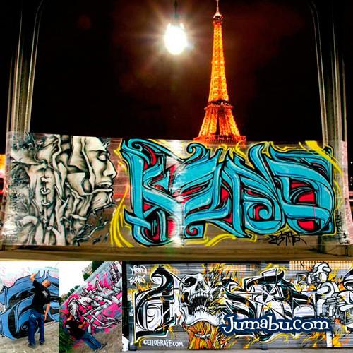 Hacer Graffitis sin una Pared – Arte Urbano para Eventos