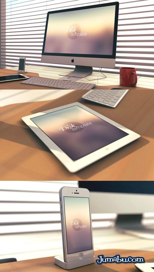Mock Up de iMac, iPad e iPhone para Presentar Nuestros Diseños Webs