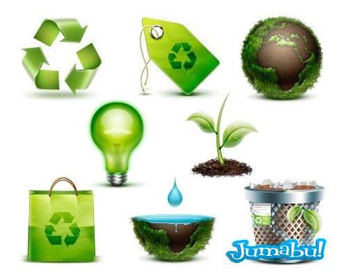 Iconos Relacionados a la Ecología