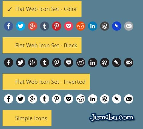 Iconos de Redes Sociales en CSS para tu Web
