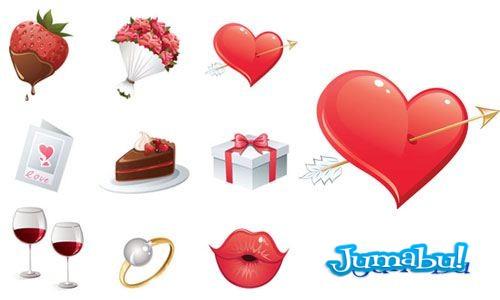 Vectores para San Valentín