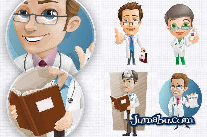 Ilustraciones de Médicos o Personal de la Salud