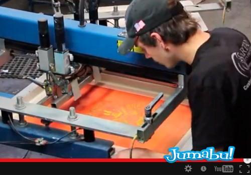Video Sobre Impresión en Serigrafía