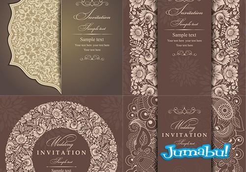 Invitación para Casamientos en Vectores
