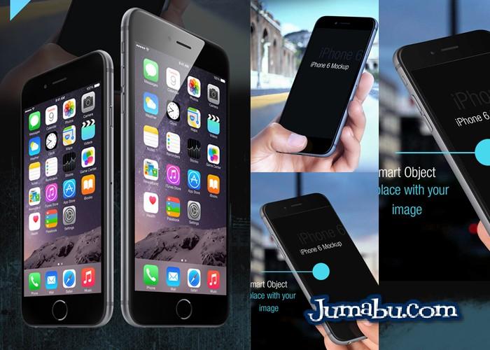 Descarga Gratuita de MockUp Iphone 6 en formato PSD