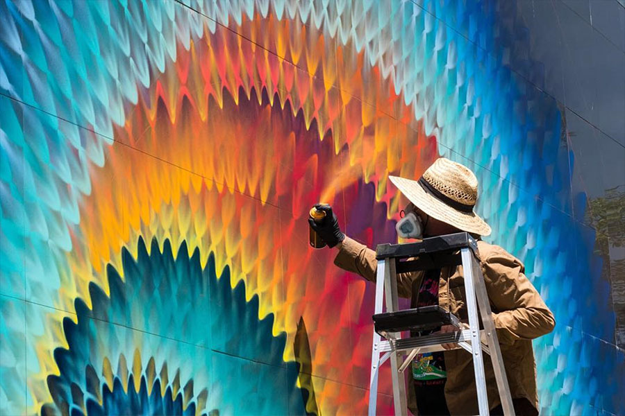 Grafitis como portales callejeros
