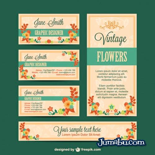 Gráfica de identidad Visual con Estilo Floral