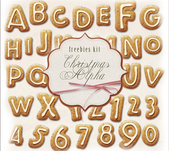 Letras de Galletitas Horneadas