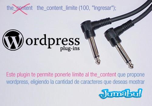 Como Poner Límites de Caracteres al Contenido de un Post WordPress