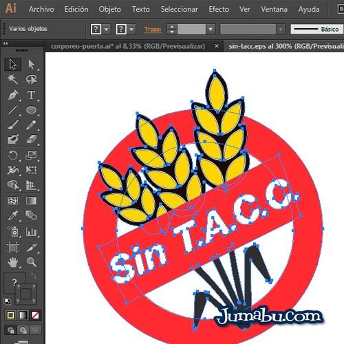 Logo en Vectores Sin T.A.C.C – Celíacos Argentina
