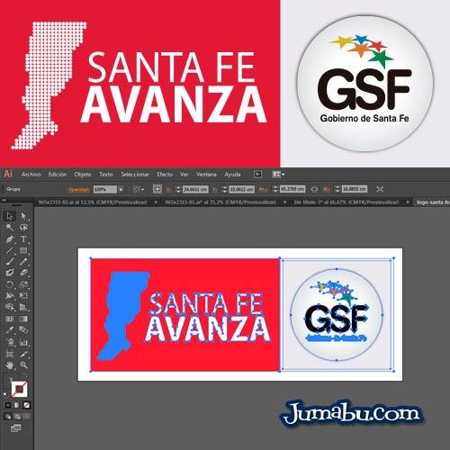 Logo Provincia de Santa Fe en Vectores – Santa Fe Avanza