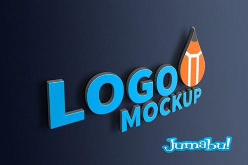 Mock Up Realista de Logos