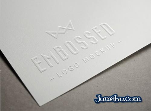 Plantilla en 3D para Presentar tu Logo con Efecto Relieve