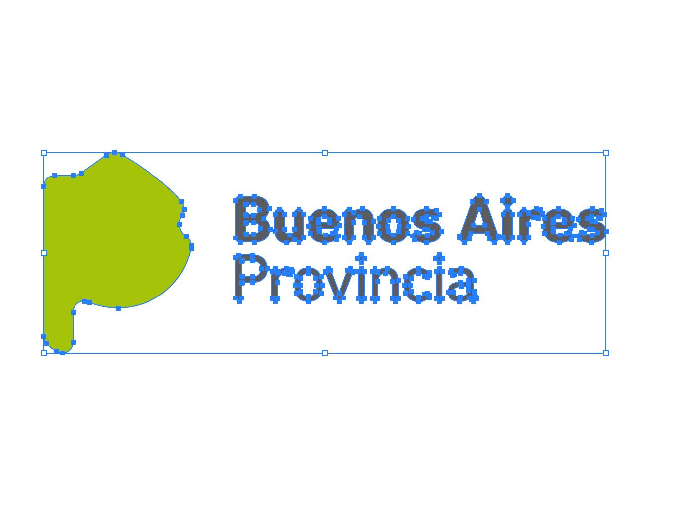 Logo de la provincia de Buenos Aires en vectores