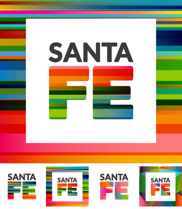 Nuevo logo de la provincia de santa fe en vectores