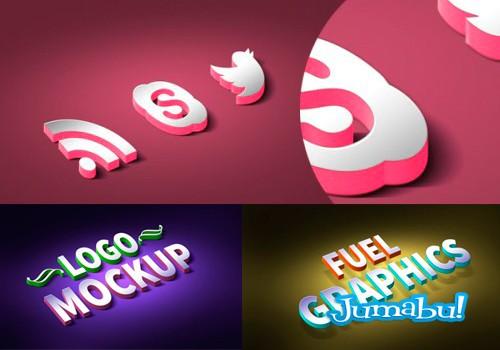 Crear un Logo en 3D con Photoshop