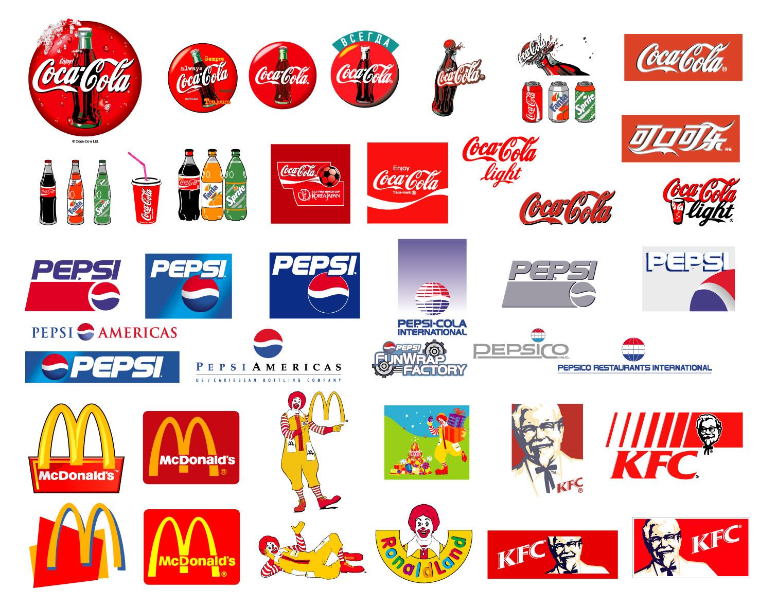 Logos de Marcas de Bebidas Gaseosas