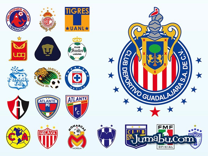 Escudos del Fútbol Mexicano en Vectores