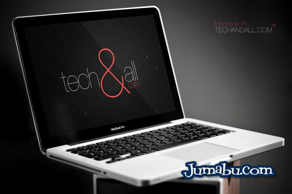 MacBook Pro Template 3D en Photoshop